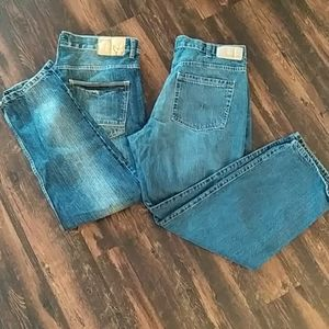 Men's jeans lot 36*30 relaxed fit